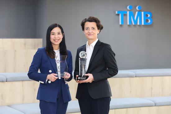 TMB Smart Port คว้า 2 รางวัลจากเวทีระดับโลก