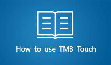 How to use TMB Touch