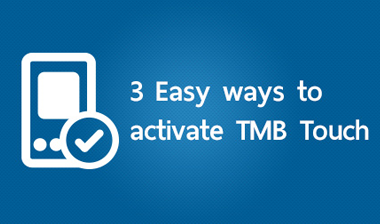 3 Easy ways to activate TMB Touch