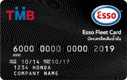 Esso-Fleet Card