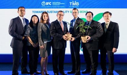 TMB เป็นธนาคารพาณิชย์ไทยแห่งแรกออกพันธบัตรสีเขียว