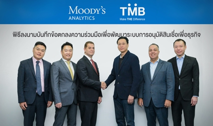 TMB joins hands with Moody's Analytics