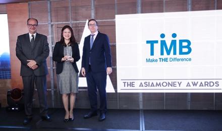 โครงการไฟ-ฟ้า โดย ทีเอ็มบี รับรางวัล Best Bank for CSR Thailand