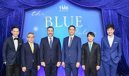 ทีเอ็มบี จัดงาน The Blue Palais