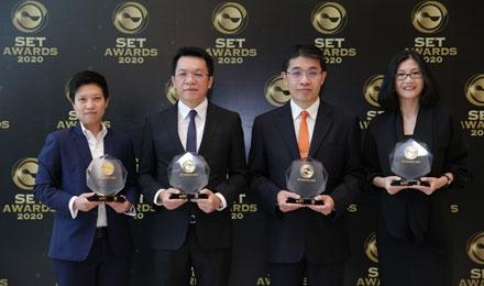 ทีเอ็มบี คว้า 2 รางวัล จากเวที SET AWARDS 2020