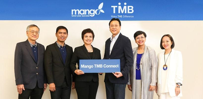 ทีเอ็มบี ร่วมพัฒนาระบบ Mango TMB Connect