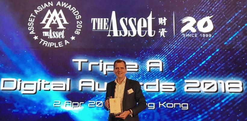 ทีเอ็มบีคว้ารางวัล Digital Bank of the Year Award 2018