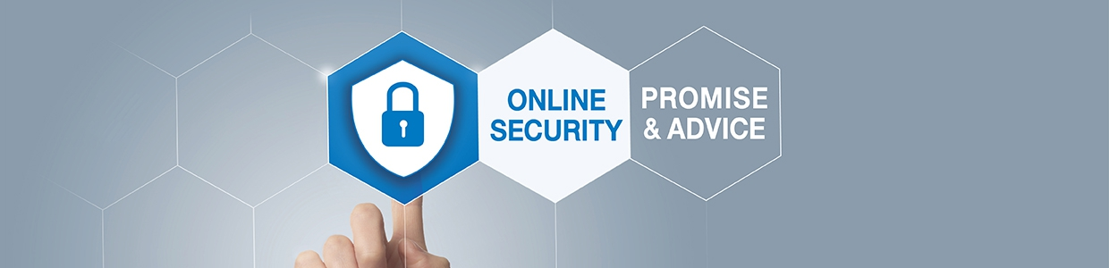Online Security Promise & Advice