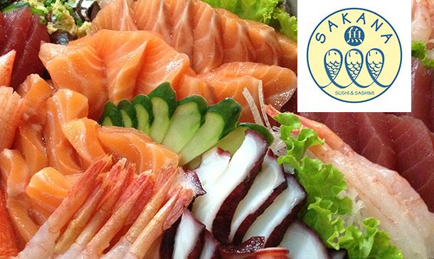 สะกะนะ ซูชิ แอนด์ ซาซิมิ (Sakana Sushi  Sashimi)