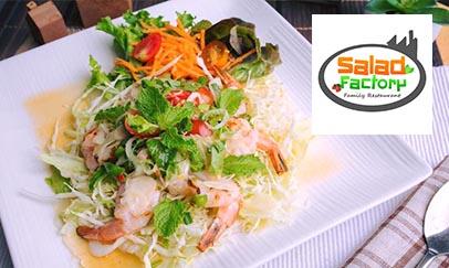สลัดแฟคทอรี่ (Saladfactory)