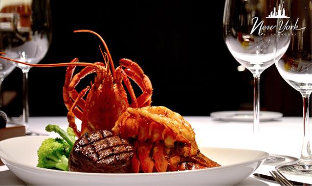 ห้องอาหาร New York Steakhouse โรงแรม JW Marriott Bangkok Hotel