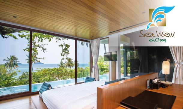 โรงแรมซีวิว เกาะช้าง (Sea View Koh Chang)
