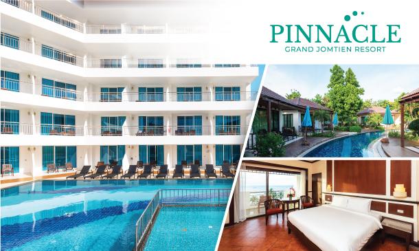 พินนาเคิล แกรนด์ จอมเทียน รีสอร์ท (Pinnacle Grand Jomtien Resort)