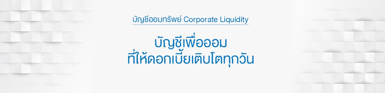 Corporate Liquidity Account