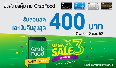 GrabFood Mega Sale Festival