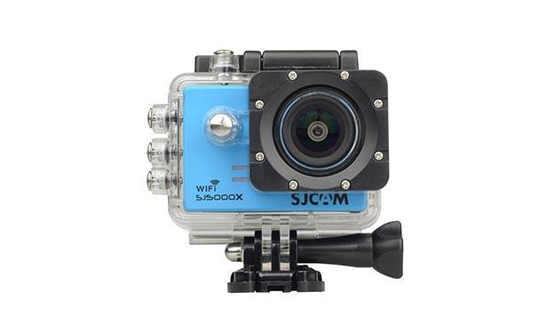 กล้องแอ็คชั่น SJCAM 5000X (สีฟ้า)