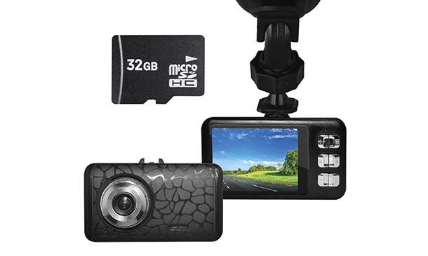 กล้องรถยนต์ Dcam Gen1 พร้อม Memory Card 32GB