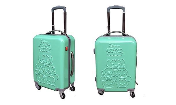 """กระเป๋าเดินทาง 4 ล้อ 20"""" ลาย TSUM TSUM สีเขียวมินท์"""
