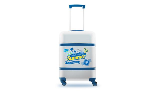 """กระเป๋าเดินทาง20""""HappySummer"""