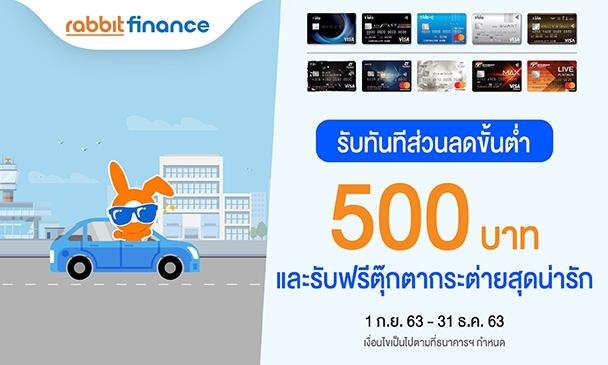 ซื้อประกันรถยนต์กับ Rabbit Finance